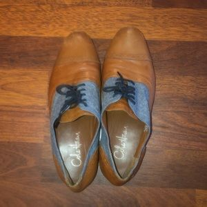 Cole Haan 2-tone Oxfords